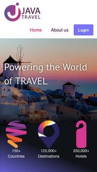 Java Travel poster