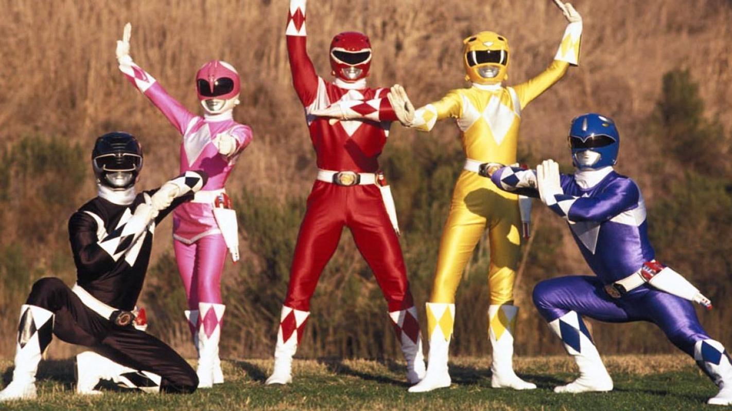 5 anh em siêu nhân الملصق ...