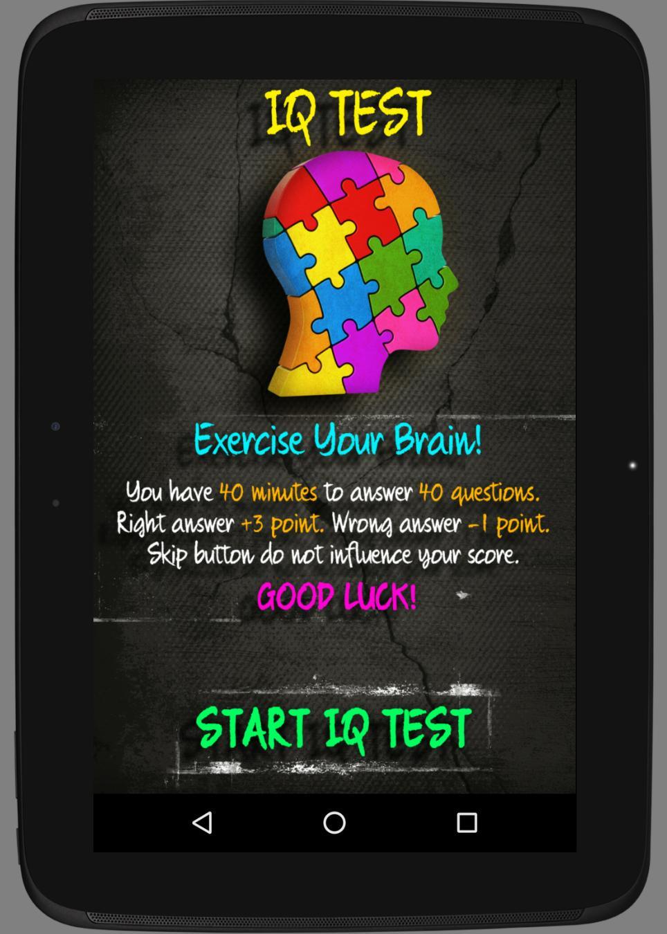 Best IQ Test for Android - APK Download