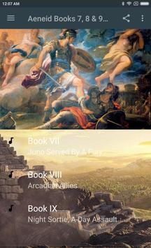 AENEID BOOKS 7 ,8 & 9 - AUDIO poster