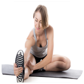 aerobic workout fitness icon