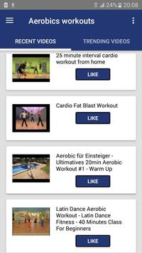 aerobic workout fitness apk screenshot