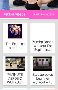 Aerobics Workout At Home apk screenshot