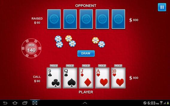 Five Card Draw screenshot 1