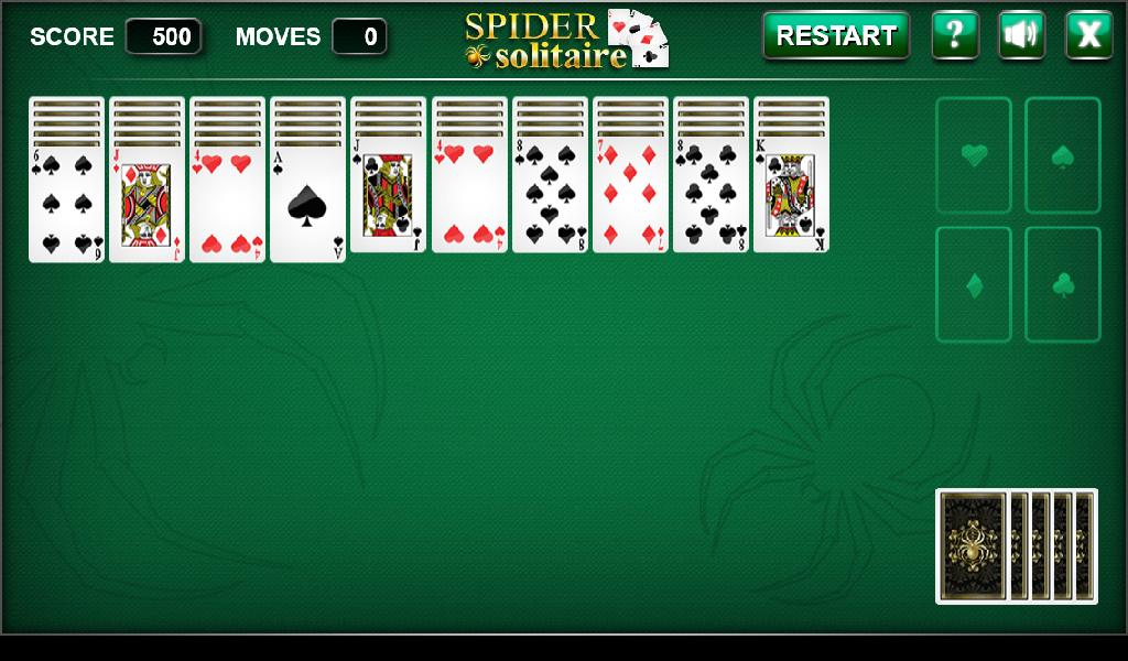 Spider Solitaire Org