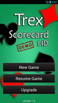 Trex Scorecard HD (free) poster