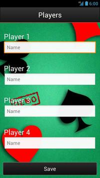 Trex Scorecard HD (free) screenshot 1
