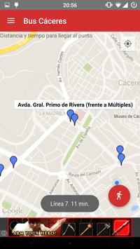 Bus Cáceres screenshot 4