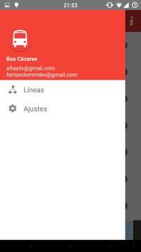 Bus Cáceres poster