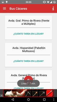 Bus Cáceres screenshot 3