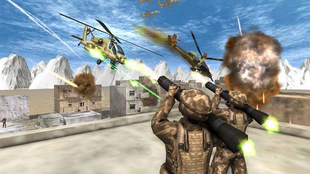 Helicopter Simulator 3D Gunship Battle Air Attack screenshot 4
