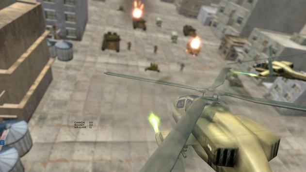 Helicopter Simulator 3D Gunship Battle Air Attack screenshot 5