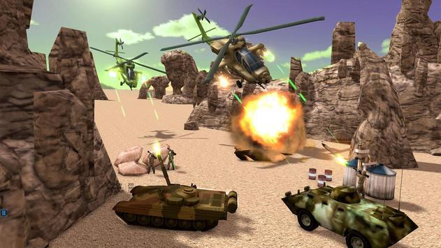 Helicopter Simulator 3D Gunship Battle Air Attack screenshot 6