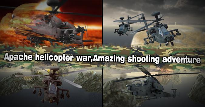 Helicopter Simulator 3D Gunship Battle Air Attack screenshot 7