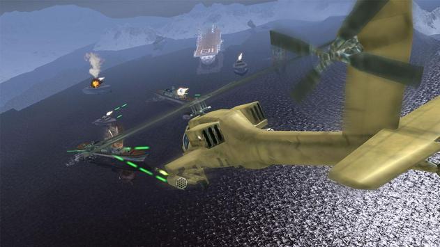 Helicopter Simulator 3D Gunship Battle Air Attack screenshot 2