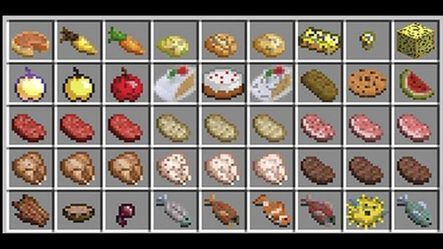 More food for minecraft for Android - APK Download