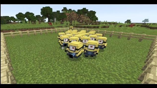 New yellow craft mods for Minecraft poster