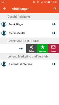 QUER DURCH - Hamburg Spedition und Transport apk screenshot