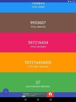 Age Calculator Plus apk screenshot