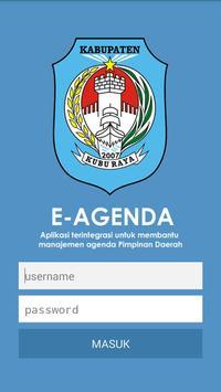 E-Agenda Pemkab Kuburaya poster
