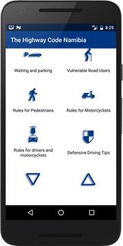 The Highway Code Namibia poster