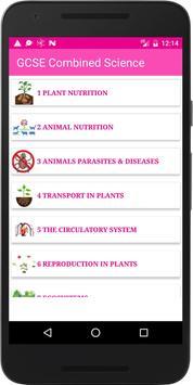 GCSE Combined Science screenshot 1