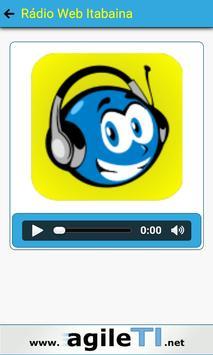 Rádio Web Itabaina apk screenshot