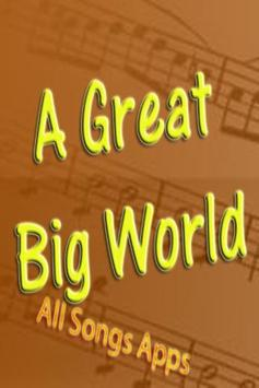 All Songs of A Great Big World poster