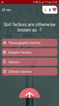 Agriculture Quiz screenshot 3