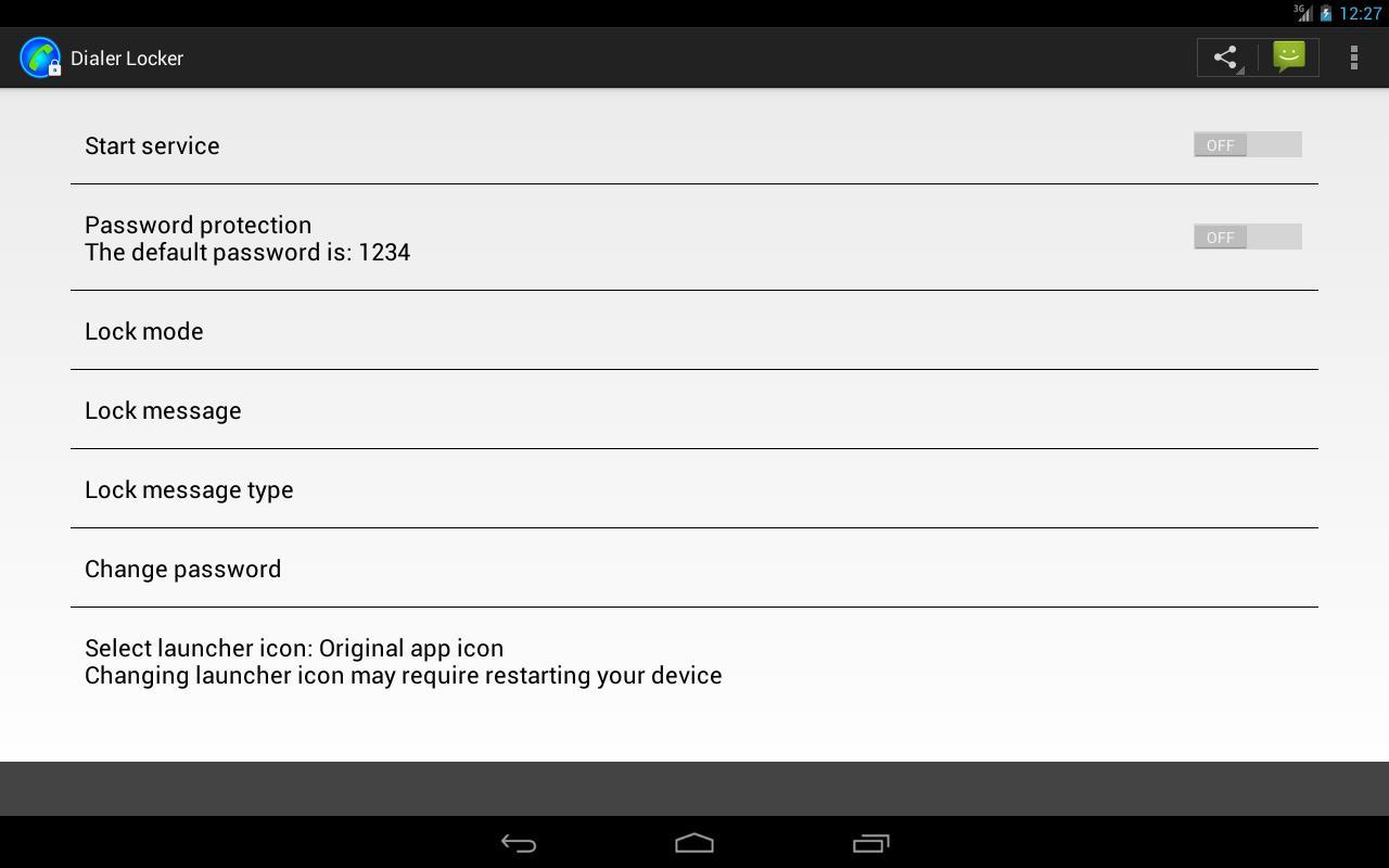 Dialer Locker for Android - APK Download