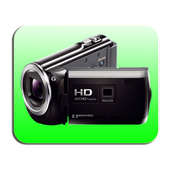 Background Video Camera icon