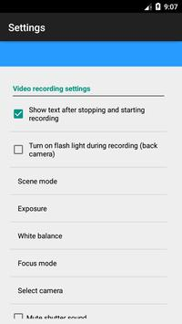 Background Video Camera screenshot 4