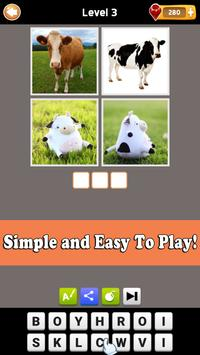 What The Word - 4 Pics 1 Word - Fun Word Guessing screenshot 4