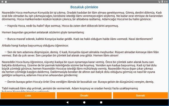 Nasreddin Hoca Fıkraları screenshot 5
