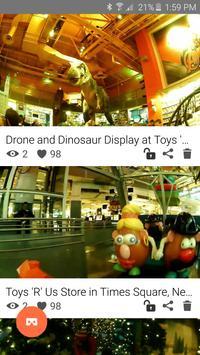 Teleport via Virtual Reality apk screenshot
