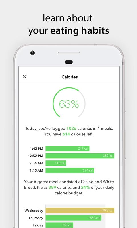bitesnap photo food tracker and calorie counter apk download free