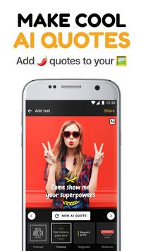 GagBot – AI Quote Creator for your photos poster
