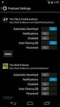 Podkicker Podcast Player apk screenshot