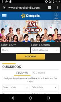 Movie Ticket Booking Portal screenshot 2