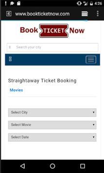 Movie Ticket Booking Portal screenshot 3