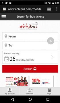 Bus Ticket Booking Portal screenshot 1