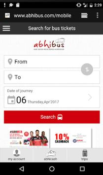 Bus Ticket Booking Portal screenshot 1