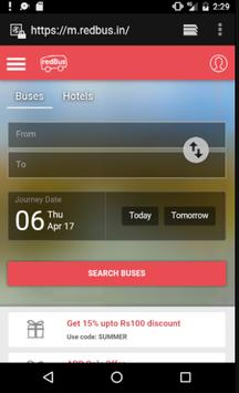 Bus Ticket Booking Portal screenshot 2