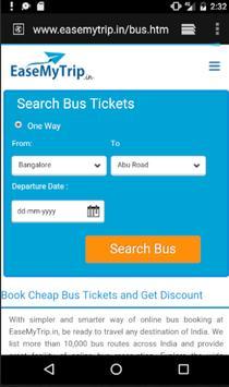 Bus Ticket Booking Portal screenshot 4