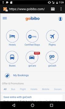Flight Ticket Booking Portal apk screenshot