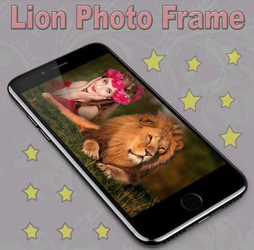 Lion Photo Frame screenshot 3