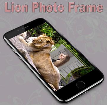 Lion Photo Frame screenshot 5