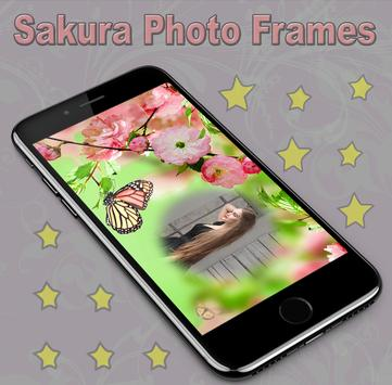 Sakura Photo Frames screenshot 2