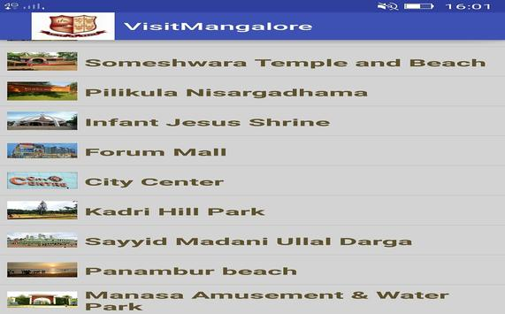 Visit Mangaluru apk screenshot
