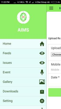AIMS screenshot 1